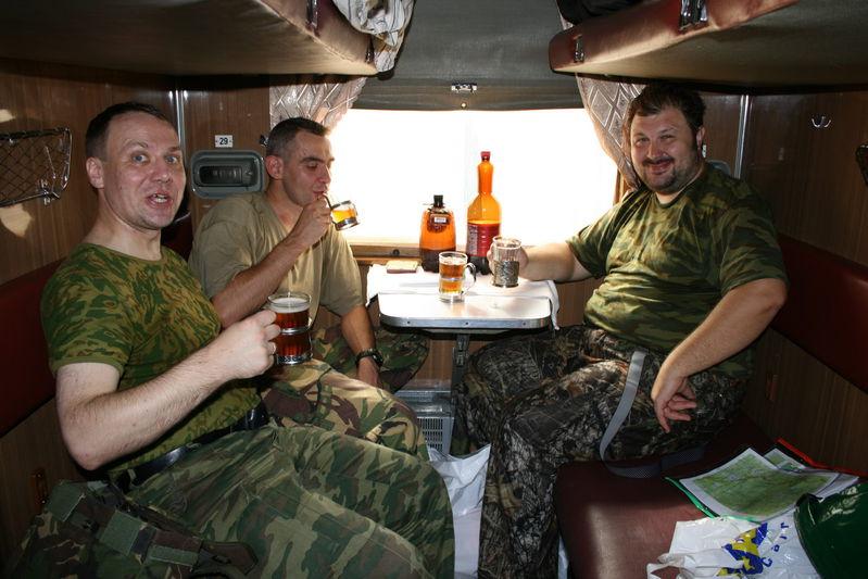 В поезде на Архангельск